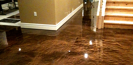 St Louis liquefied Metal Epoxy Floors